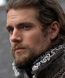 Charles Brandon, Duke of Suffolk played by Henry Cavill