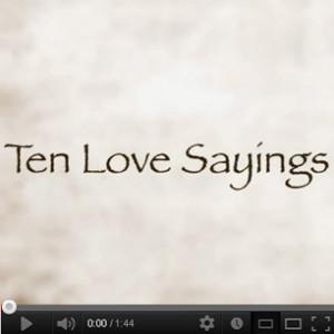 Top Ten Cute Love Sayings & Quotes