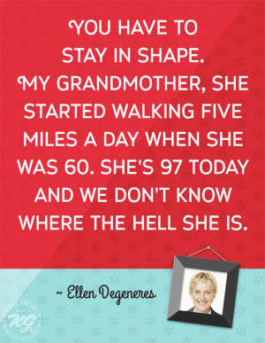 ... 97 today and we don't know where the hell she is.