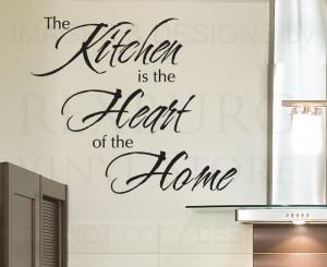 Decals On The Wall In Kitchen | Favorite Kitchen Designs