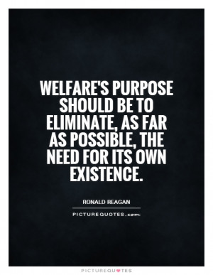 Ronald Reagan Quotes Welfare Quotes