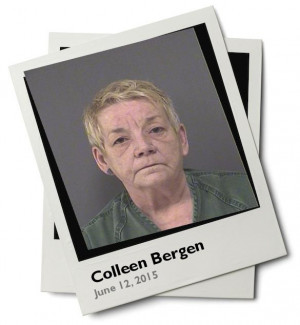 Photo Colleen Bergen was arrested on June 12 2015 in Ocean New