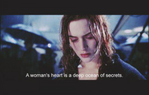 kate winslet, love, quote, text, titanic, tragedy