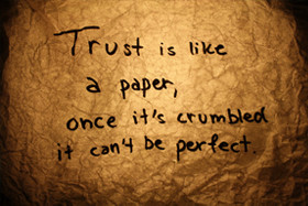 Quotes about Broken_Trust