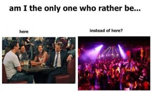 Funny photos funny bar vs nightclub