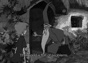 The Sword in the Stone #Merlin #Wart #Arthur #Diseny #animation # ...