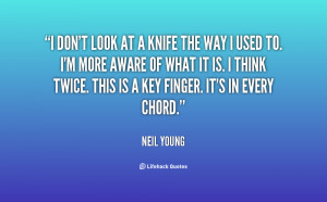 Knife in My Back Quotes