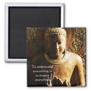 Buddha Quote about FORGIVENESS and FORGIVING Magnet