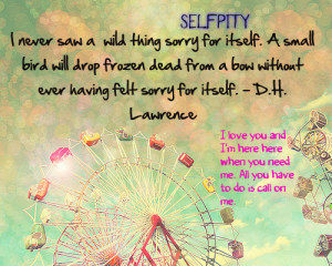 Self Pity Dh Lawrence