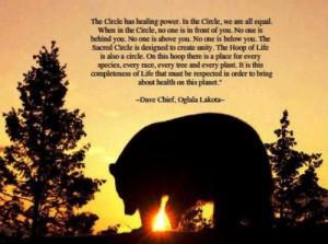 from Dave Chief - Oglala Lakota -