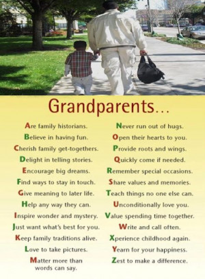 Grandparents Make The World A Little Softer, A Little Kinder, A Little ...