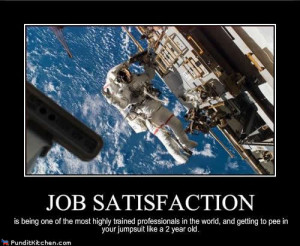 Job Satisfaction - Motivational Poster