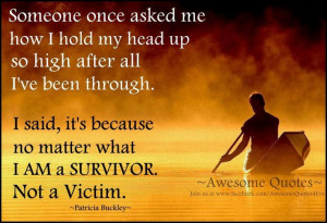 Are you a victim when you put yourself in a situation?