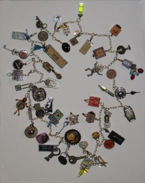 – Found Objects Necklace - ADDED CHARMS - I wish my random object ...