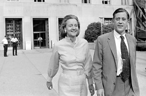 Graham (1917-2001), publisher of The Washington Post , and Ben Bradlee ...
