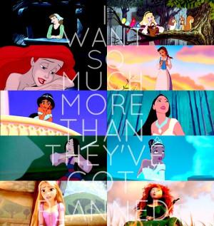 Childhood Animated Movie Heroines Disney Princesses