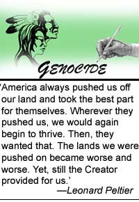 In two recent letters, Native American activist Leonard Peltier, 58 ...