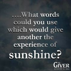 The Giver More