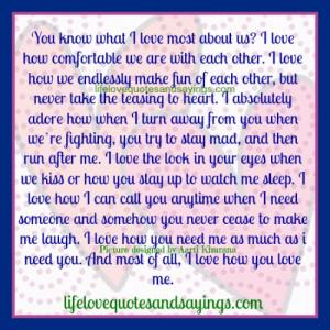Love The Way You Love Me...