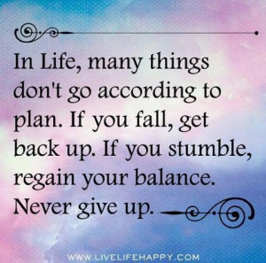 Never give up picture quotes image sayings