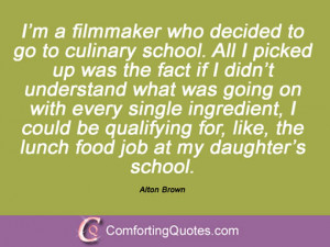 Quotations By Alton Brown