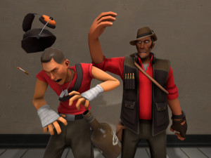 Scout and Sniper TF2