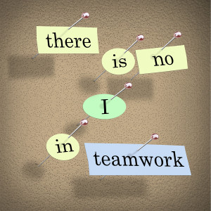 Together We Can: Quote There Is No I In Teamwork