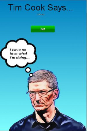 Tim Cook Says - screenshot