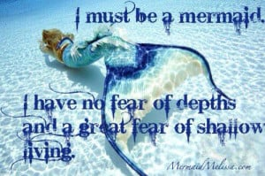 mermaid melissa mermaid quote quotes inspirational message