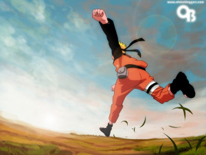 Naruto Running wallpaper