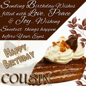 best wishes to a caring cousin happy birthday male cousin quotes 50th ...