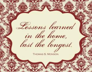 ... President Thomas S. Monson