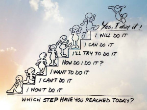 Step to success!!