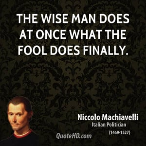 Machiavelli Quotes In Italian Clinic