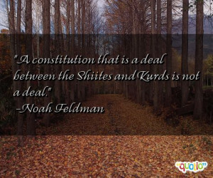 constitution that is a deal between
