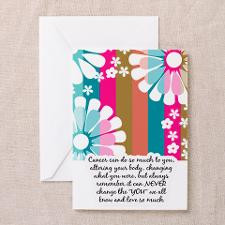 Cancer Patient Encouragement Card for