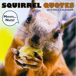 Home > Obsolete >Squirrel Quotes 2015 Wall Calendar