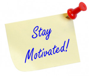 So tell me, how do you stay motivated in such a crazy world? What are ...
