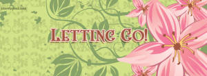 Letting Go Facebook Cover Layout