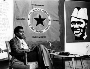 Kwame Ture (aka Stokely Carmichael) rapping about Nkrumahism!!!
