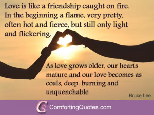 Leo Buscaglia Quote about Strong Love Powerful Love Quote by Ken Keyes ...