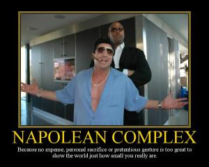 Napoleon Complex Motivational Poster by DaVinci41