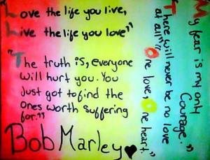 Bob marley quotes.