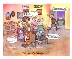 Funny Ladies Cartoons