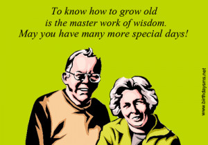 Birthday Sayings for Old People