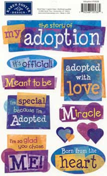 Adoption Stickers Karen...