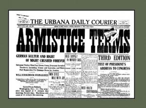 Newspaper Articles From World War 1