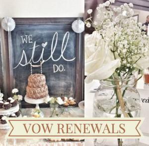 Vow renewals