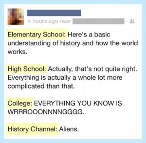 history of the world, funny twitter quotes