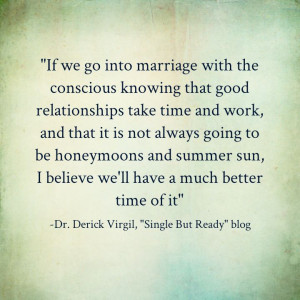 Check out Derick's entire blog post at www.singlebutready.com